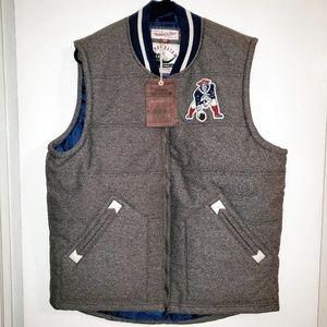 NWT Mitchell & Ness New England Patriots vest sz L